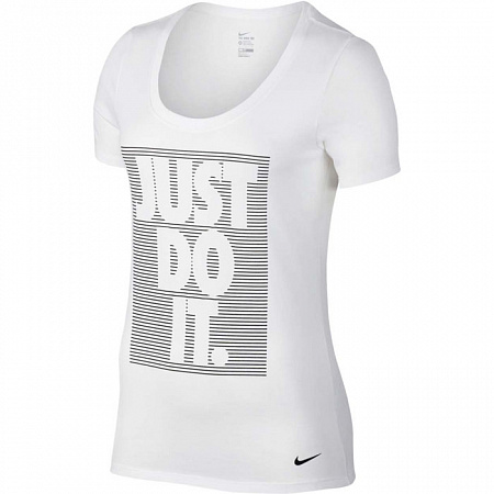 Футболка Nike Training DryT-shirt жен. (805756-100)