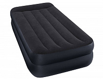 "Кровать-матрас Intex ""Twin Pillow Rest Raised Airben With Fiber-Tech Bip""  191х99х42см (64122NP)"